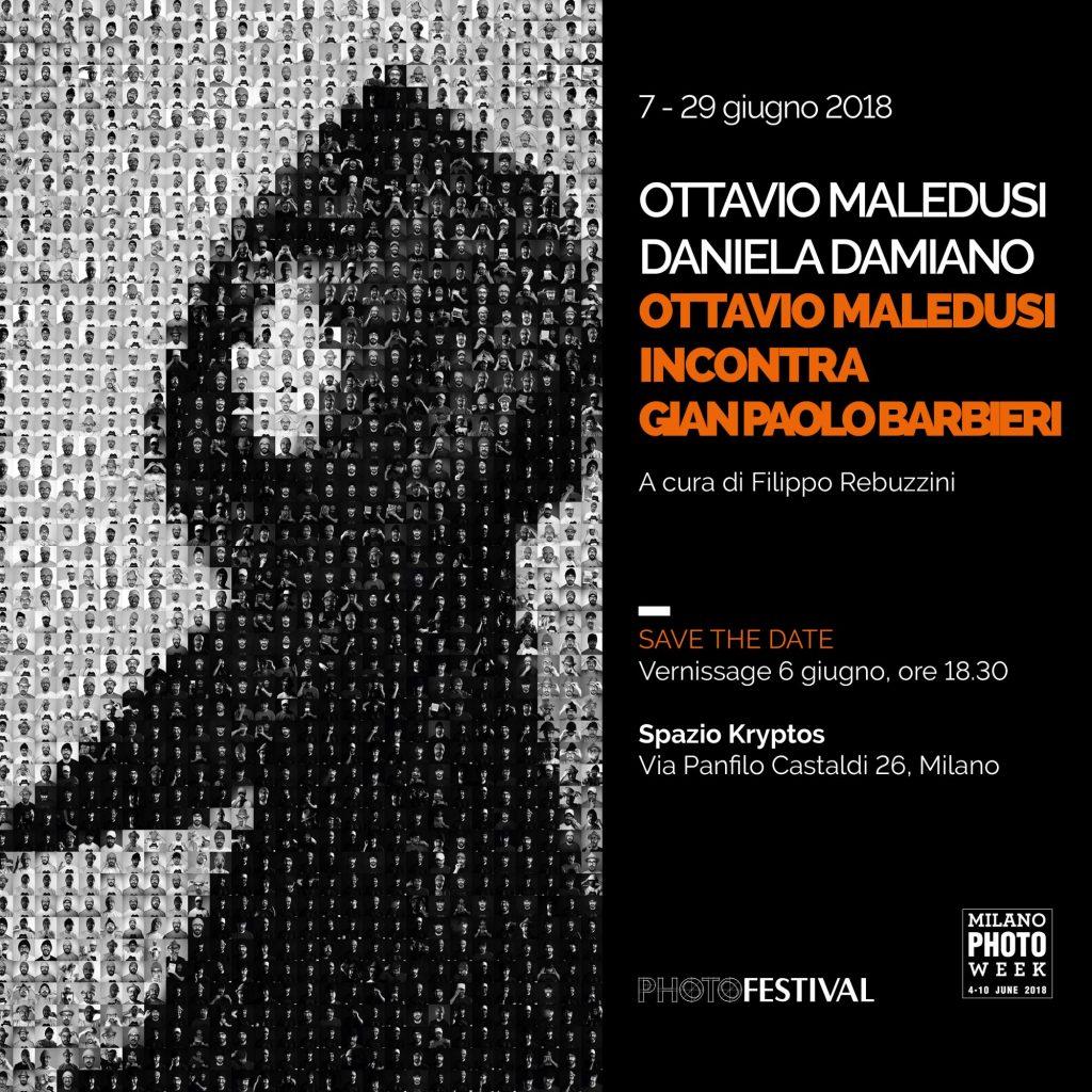 Ottavio Maledusi - Ottavio Maledusi incontra Gian Paolo Barbieri